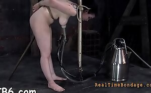 Harsh whipping be fitting of well-disposed gal