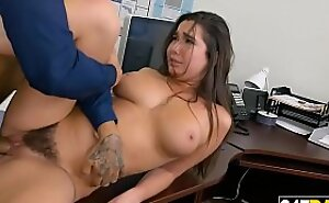 Hairy Bawdy cleft office sex