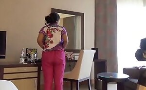 Shy Indian Bhabhi At hand Hotel Room With Her Newly Married Husband Honeymoon