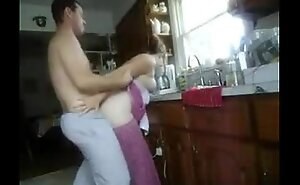 fucking wife relative to kitchen
