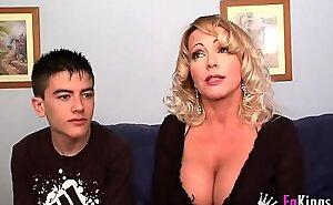 A true milf club: Bibian's big boobs Vs Jordi's dope-fiend