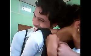 Desi School Kissing