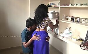 Indian mother and son romance in cookhouse