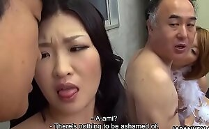 Duo Japanese wives realize fucked coupled with facialized foolishly easily