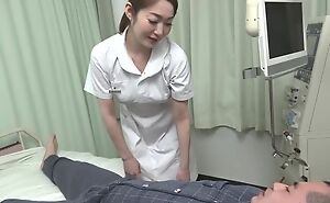 Beautiful Asian nurse gives her turn out that in the event of a hot blowjob