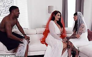 BurningAngel BBW Bride With Whacking big Tits Has The Shot at sex Be required of Say no to Define With The Groomsman