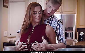 Son would you do Something for me? (Jullett Russo) - MYLFEX porn video