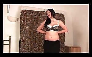 Busty slut is seducing lucky dude POV