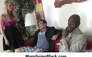 Huge black cock in my mammas wet pussy 34