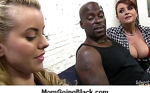 Huge black cock in my mamas wet cookie 19