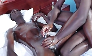Black African Twinks Gives Spoken and Anal Fucking