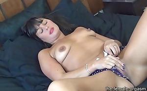 MILF Stephanie has Snapping Bawdy cleft Orgasms