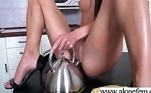 Teen Hot Girl Masturbating Alongside Sex Toys clip-08