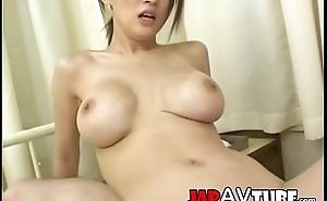 Busty japanese nurse gets ejaculation